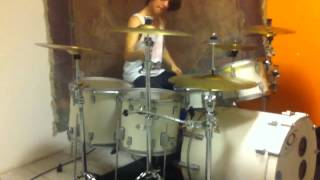 hardcore/deathcore drumming + blast beats + breakdowns