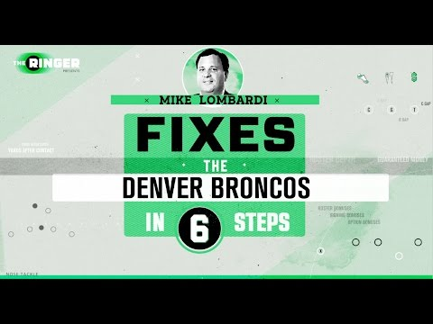 How to Fix the Denver Broncos in Six Steps | Michael Lombardi | The Ringer
