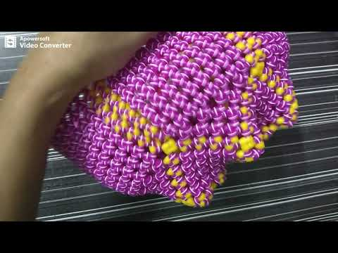 Normal knot || double wire || Pooja basket || Part || 5/5