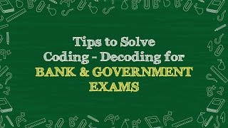 Strategy To Solve Coding Decoding | Reasoning