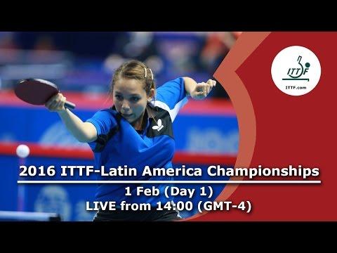 2016 ITTF-Latin American Championships - Day 1