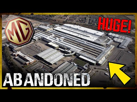 DARK & DANGEROUS | Abandoned MG Motors Factory!