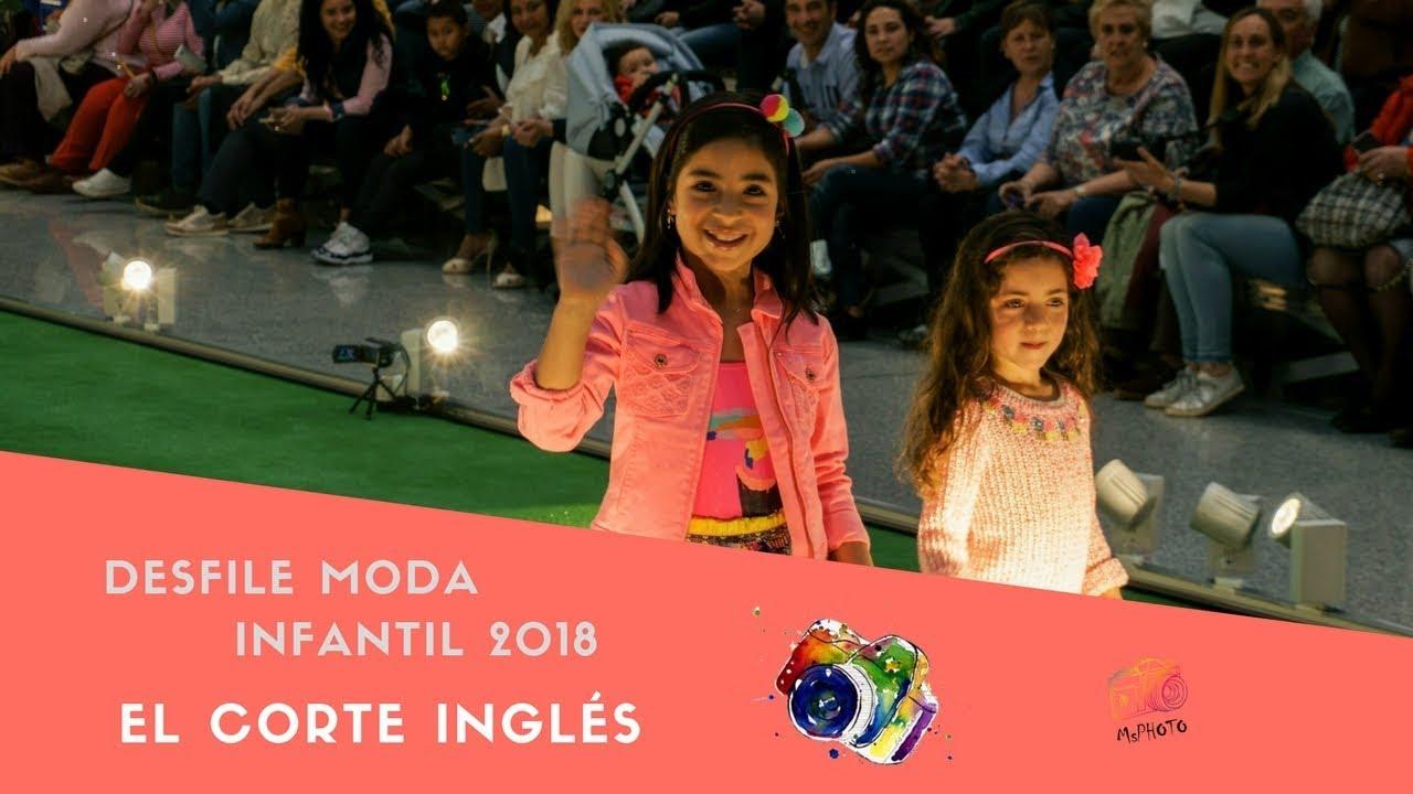4da64762034 DESFILE MODA INFANTIL 2018 EL CORTE INGLÉS - YouTube