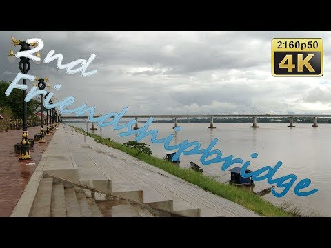 Mukdahan, Friendship Bridge to Savannakhet - Thailand 4K Travel Channel