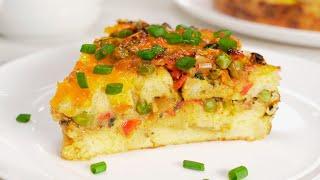 Понравится всем Вкусный завтрак из яиц хлеба и овощей Рецепт от Всегда Вкусно