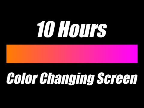 Color Changing Mood