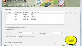 SysInfoTools Windows Data Recovery