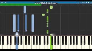 Kana Nishino - Wishing (Synthesia Piano Tutorial)