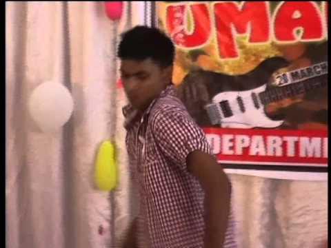 bundelkhand university jhansi fresher party enjoy by dk nigam