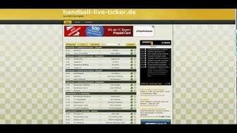 handball-live-ticker.de - HQ Handball Livescore