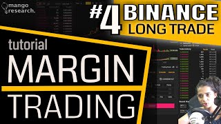 Binance LONG TRADE Tutorial | Binance Margin Trading FULL Tutorial |