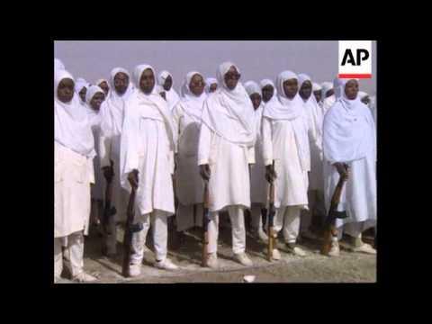 SUDAN: KHARTOUM: MILITARY PARADE