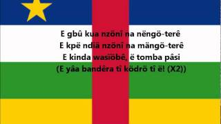 Hymne national de la République Centrafricaine (Sango)