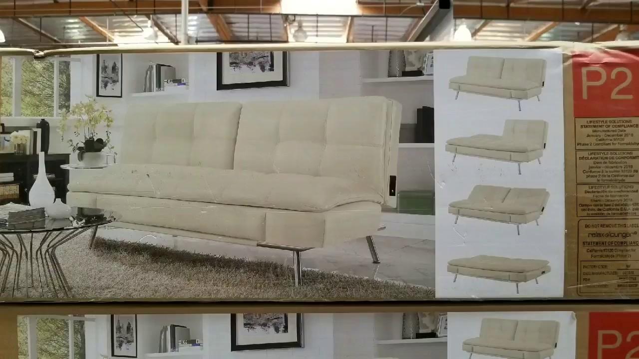 Costco Relax A Lounger Eurolounger Sofa Futon 319