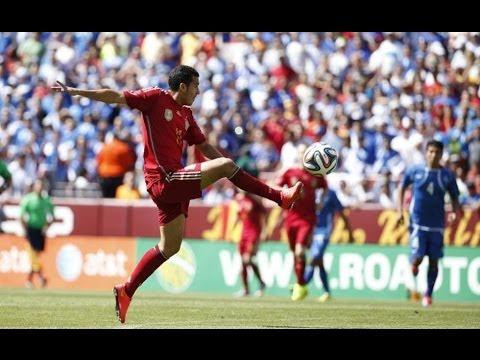 España vs. El Salvador Amistoso Brasil 2014 2-0