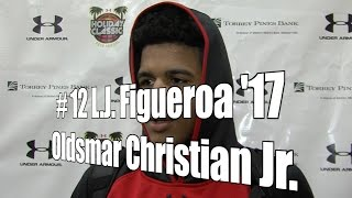 L.J. Figueroa '17, Oldsmar Christian Junior at 2015 UA Holiday Classic