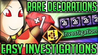 Fastest Rare Decoration + Investigation Farm - Drop % Revealed - Monster Hunter World! (Guide/Tips)