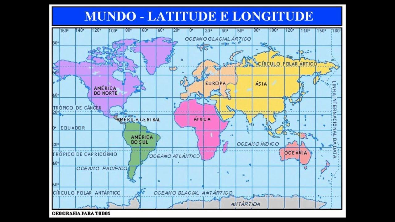 Parodia Latitude e Longitude  YouTube