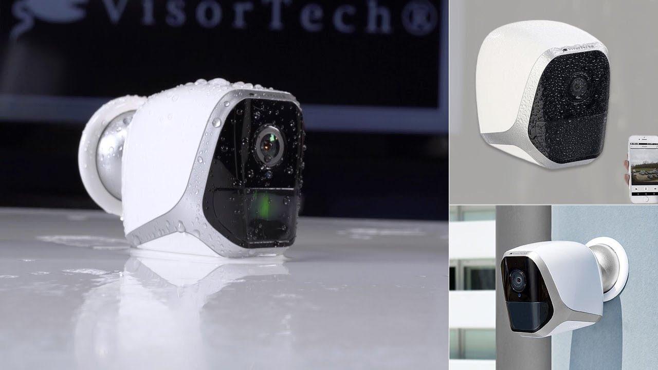 Camera De Video Surveillance Autonome Interieur Exterieur