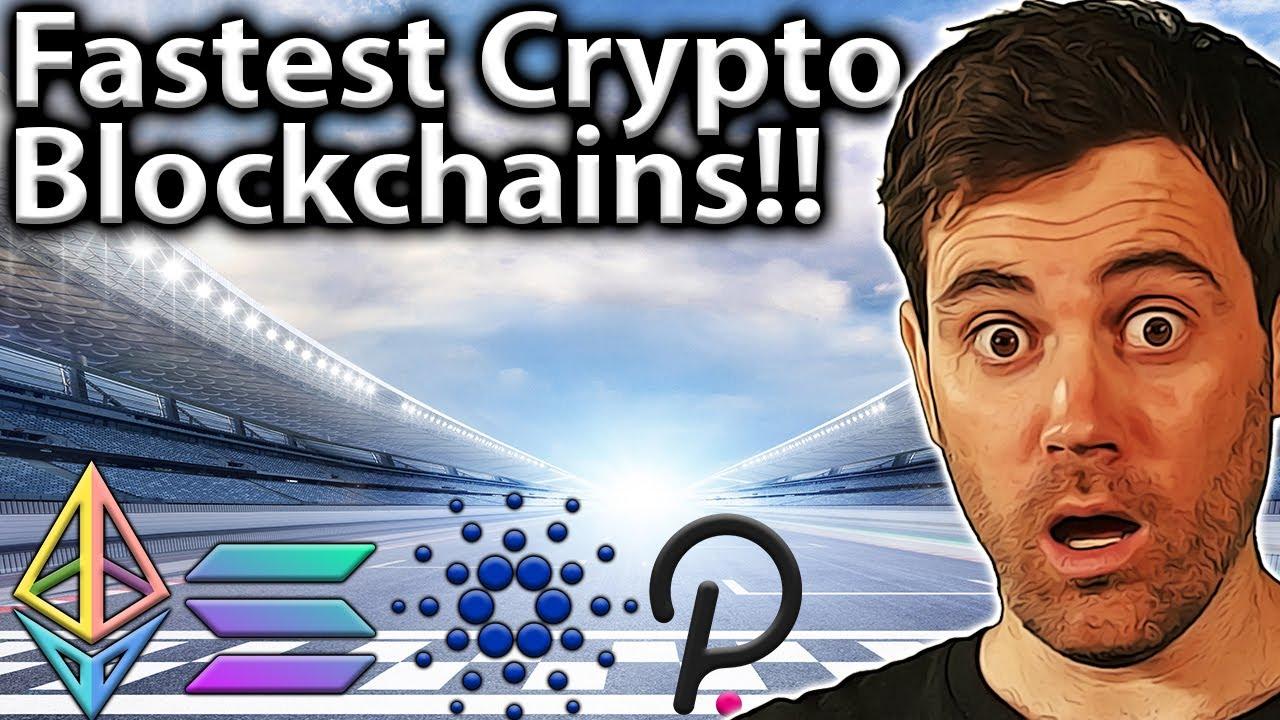 FASTEST Cryptocurrencies!! Blockchain Speed 101! 🏎