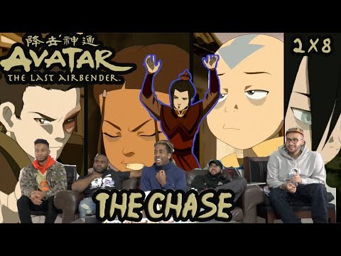 """RUN AANG!!! Avatar The Last Airbeneder  2 X 8 """"The Chase"""" Reaction/Review"""