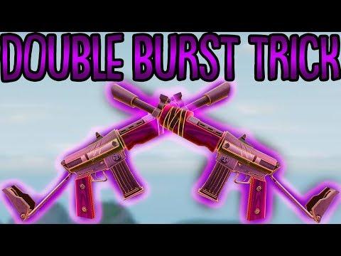 DOUBLE BURST TRICK! | (Sehr Schnell) | Fortnite Battle Royale