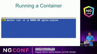 Angular, Docker and Containers...in 5 ish minutes - Dan Wahlin