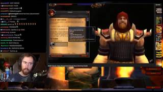 """Asmongold Reacts to """"WoW Classic Keys/Attunement/Secret Boss Summon Guide"""" by MadSeasonShow"""