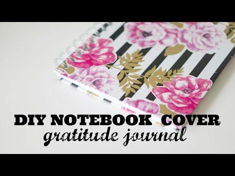 DIY Notebook Cover   Gratitude Journal