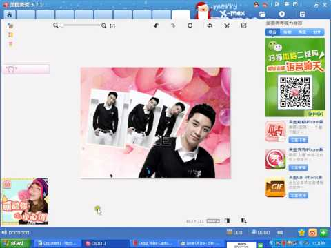 Hướng dẫn design ảnh với phần mềm phtoshop xiuxiu