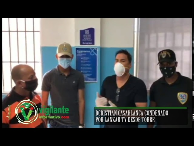Cristian Casablanca condenado por lanzar TV desde torre