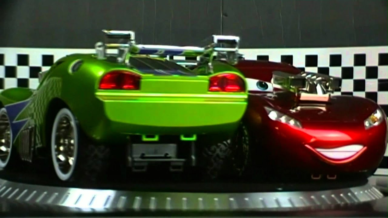 Cars 2 Movie Green Lightning Mcqueen