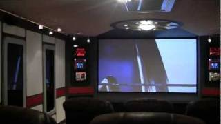Diy Star Trek Home Theater - Final Project Video