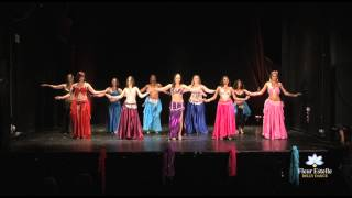Belly Dance Student Performance 2014 - Fleur Estelle Dance School