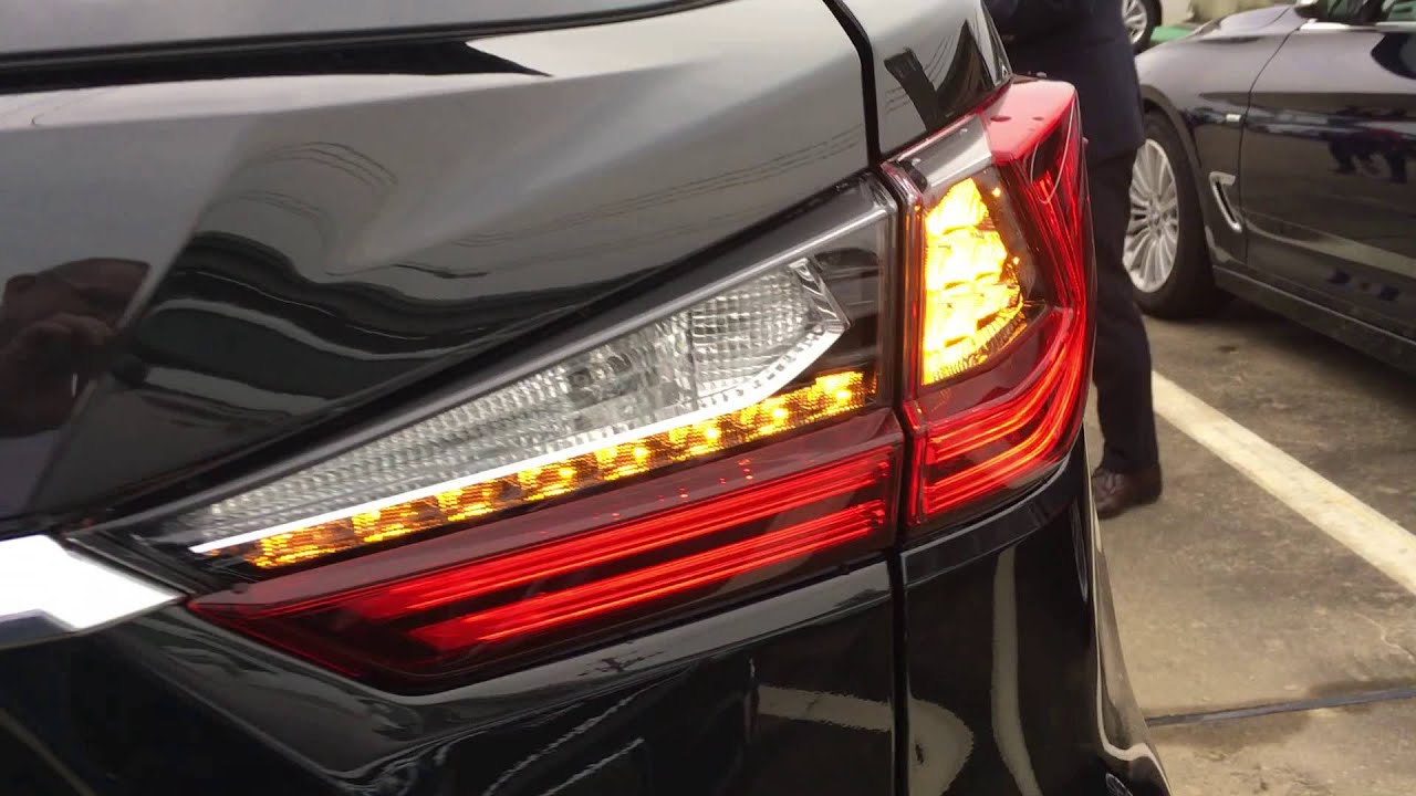 Lexus Rx 2016 Turn Lights