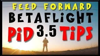 Betaflight 3.5 Tuning TIPS | PID | Filters | Feed Forward | Chameleon-Ti and CNHL 4S 100c