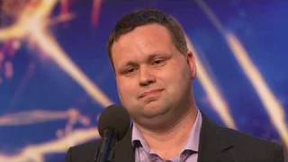 Paul Potts sings Nessun Dorma thumbnail