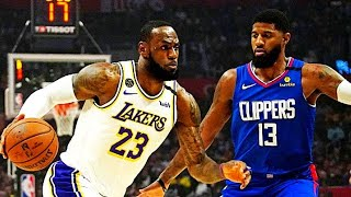 NBA Restart Schedule Reveals Lakers vs Clippers Opening Night!