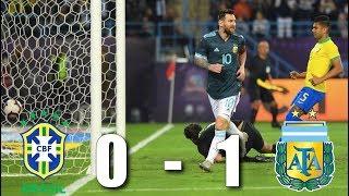 Brazil vs Argentina, International Friendly 2019 - MATCH REVIEW