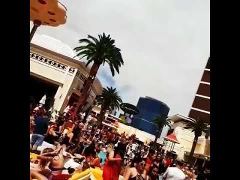 Encore pool party Vegas