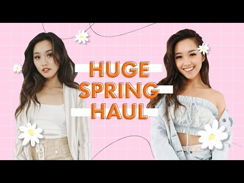 Spring Try On Clothing Haul 2018