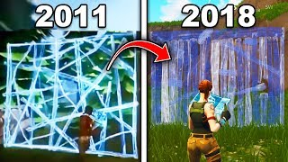 Top 10 BIGGEST Changes Made To Fortnite - OLD Fortnite Vs NEW Fortnite