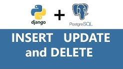Django Rest API CRUD - GET, POST, PUT and DELETE