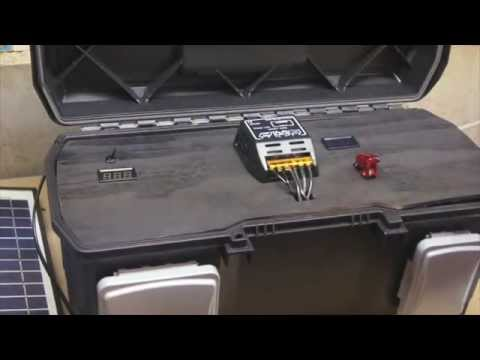 How to Build a Portable Solar Powered Battery Pack