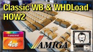 amiga 1200 cf install with whdload classic workbench tutorial how2   nostalgia nerd