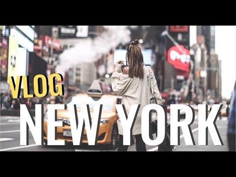 VLOG - Première fois à New York!!