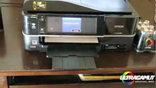How to install a Continuous Ink System CIS for Epson Artisan 700 710 800 810 835 837