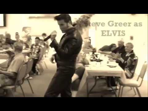 Steve Greer as Elvis 68