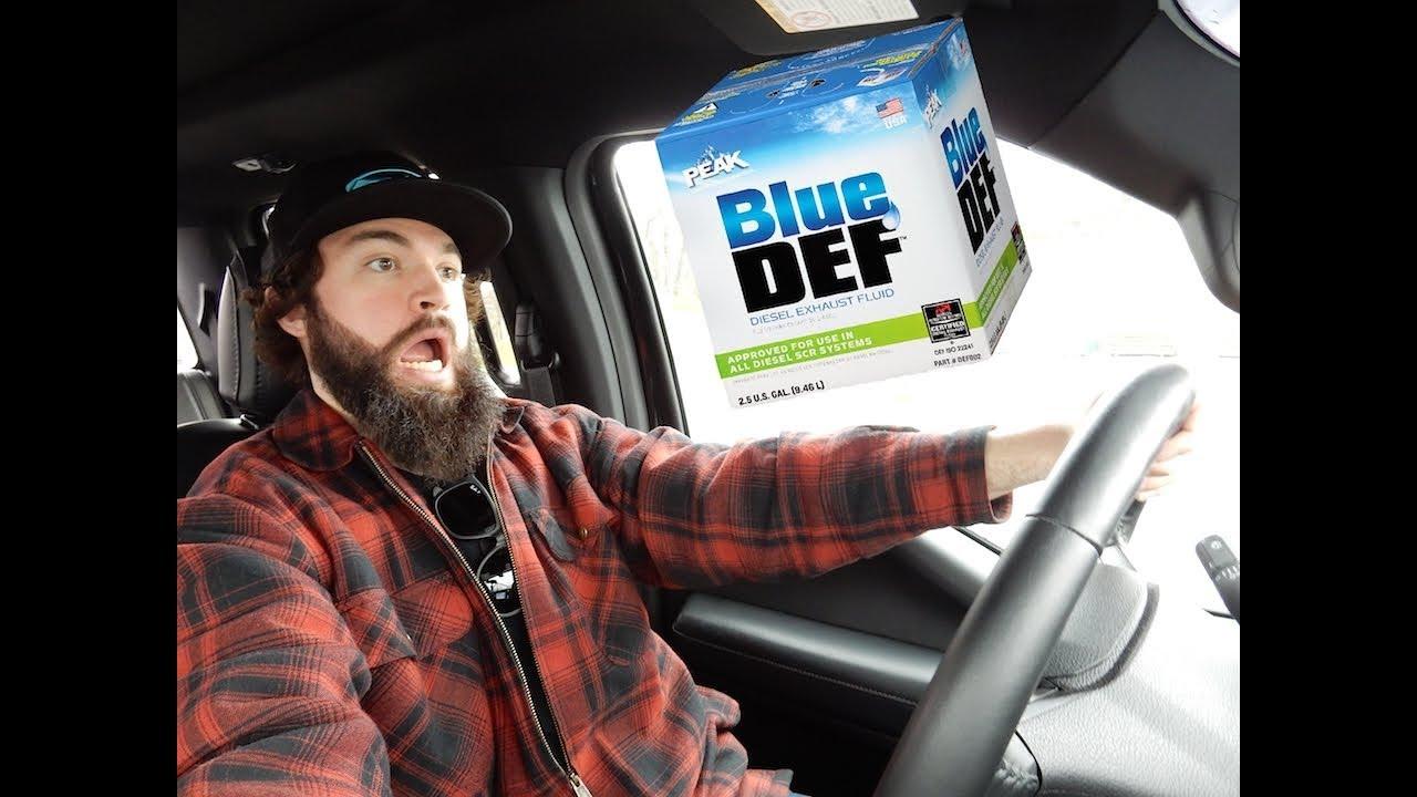 Diesel Exhaust Fluid >> How far can you go on a tank of Diesel Exhaust Fluid - 6.7 ...