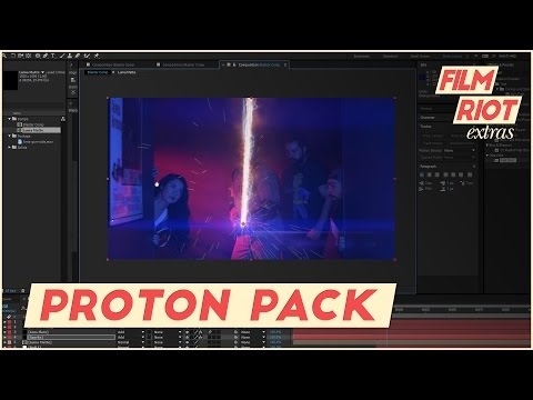 Creating a Proton Pack Energy Stream